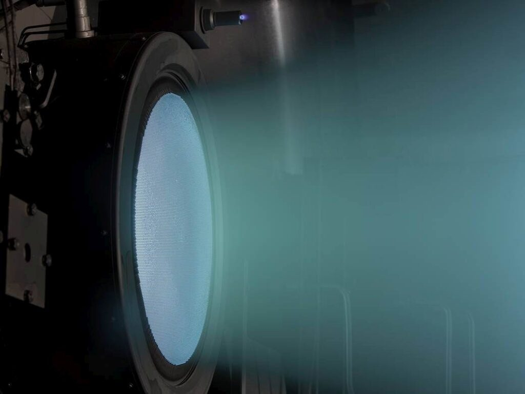 nasa xenon thruster